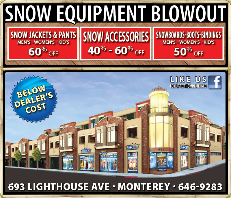 SNOW EQUIPMENT BLOWOUT